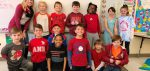 Copper Beech Students and Staff wear Red, White, and Blue Jeans to support Veterans!