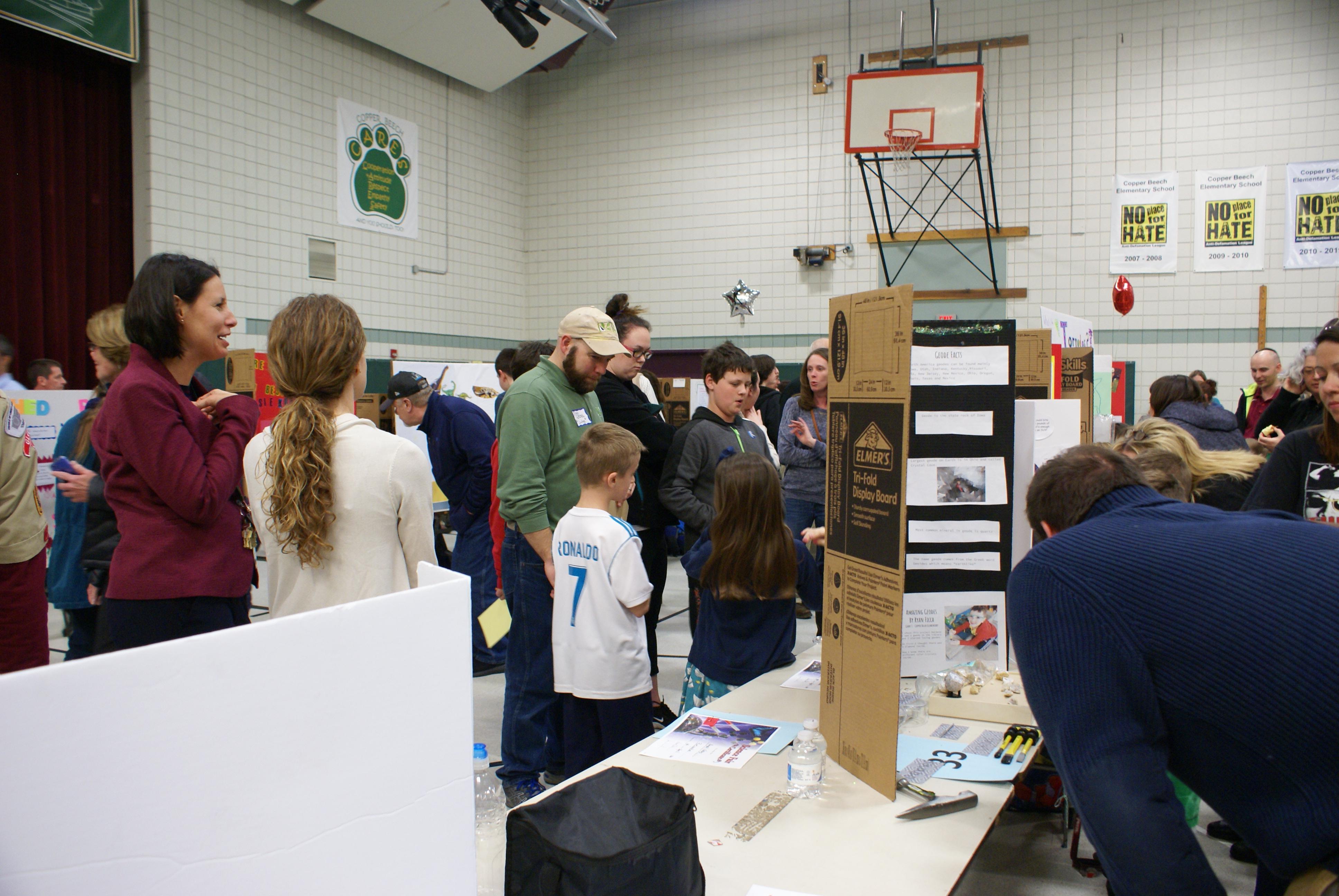 science elementary copper fair beech hosts annual second abington k12 pa