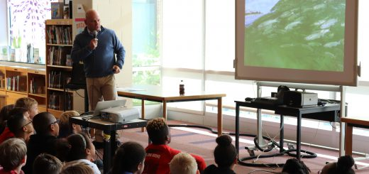Award-winning Underwater Photographer and Author Visits Copper Beech
