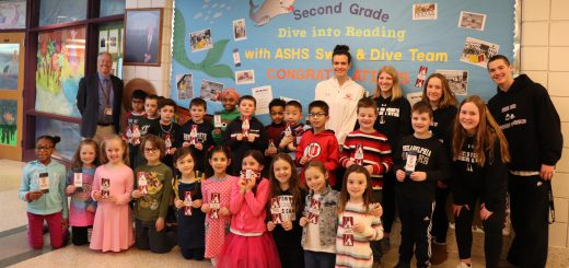 Copper Beech Dives into Reading with Help of Swim Teams