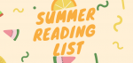 2019-2020 Summer Reading Lists