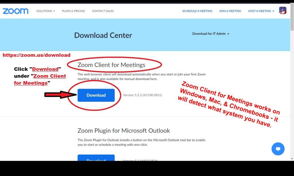 05 Download Zoom Client