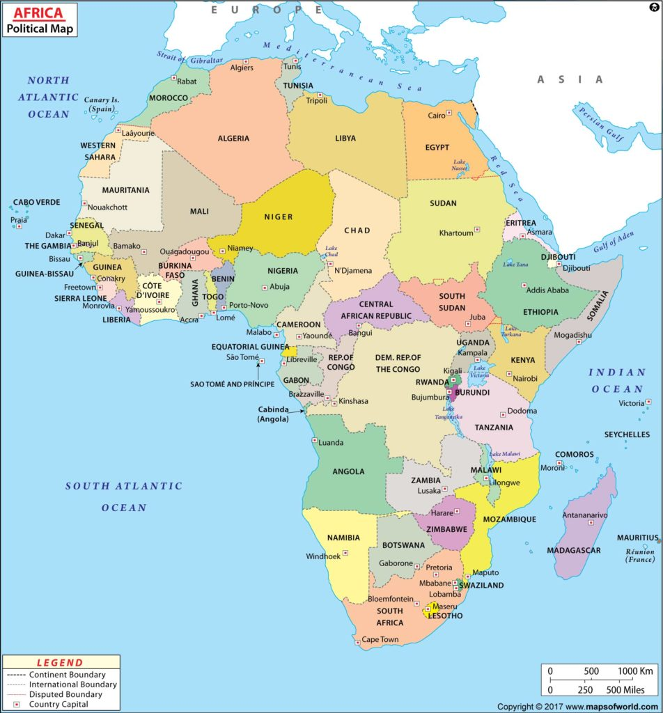 large-africa-map