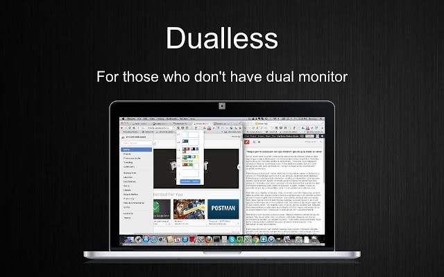 Dualless Logo