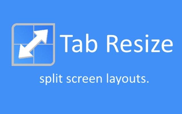 Tab Resize Logo
