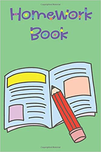 Homework Book Clipart