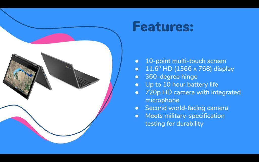 Lenovo 300e Features