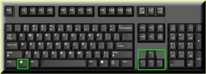 Windows + Arrow Keys