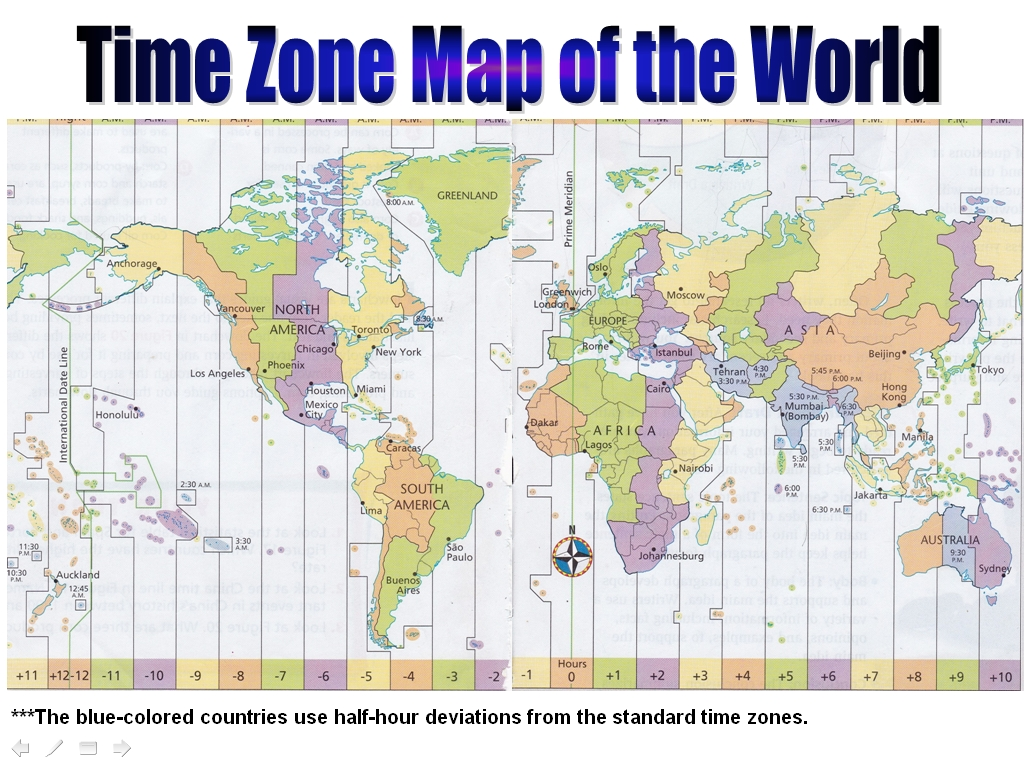 In Time Zone Map.Time Zone Map Durand Land