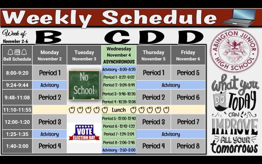 Week of 11-02