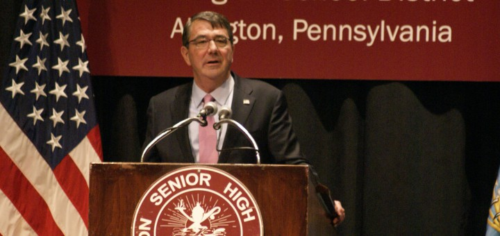 Ashton Carter at ASD