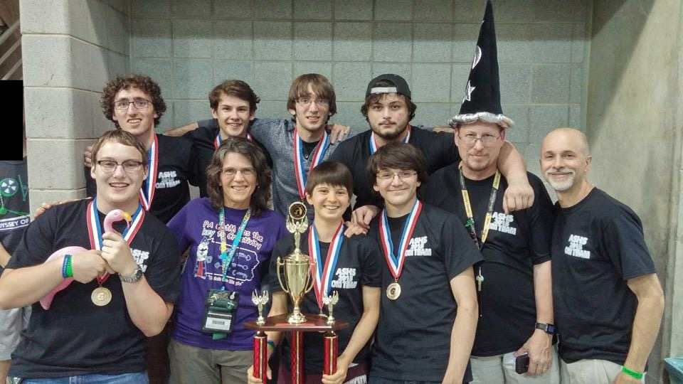 Abington Senior High School - Abington Senior High School Team Wins First Place in Category at ...