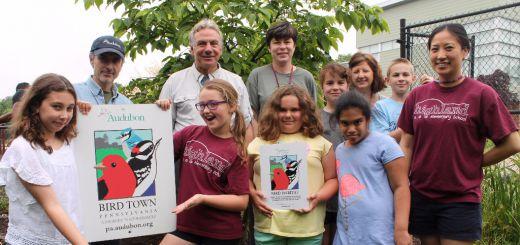 Highland Elementary School Creates Bird Habitat