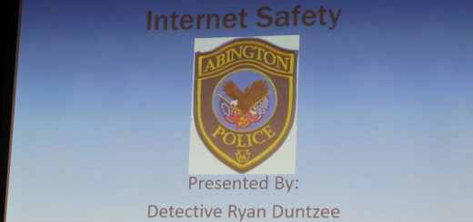 Internet Safety Presentation by Abington Police Officer Ryan Duntzee at Roslyn Elementary School Parent Council Meeting