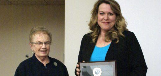 Julianne Petersen Receives Social Studies Leadership Award