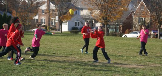 "Overlook Elementary School's ""Turkey Bowl"" Football Games Rewarded Students Who Met Their ""Reading Challenge"" Goals"
