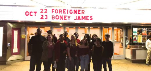 Abington Choral Students Perform with Foreigner at Keswick Theatre.