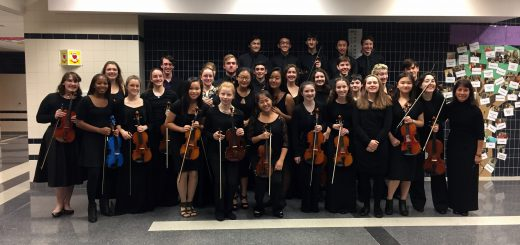 Abington String Students Perform at Montgomery County Honors String Orchestra Festival