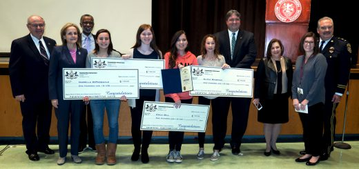Pa. Attorney General Bruce Beemer Presented Awards To Four Abington Junior High Student Winners Of  State-Wide Anti-Drug Peer-2-Peer Video PSA Contest