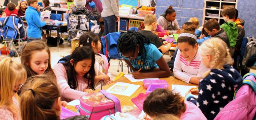 Highland Elementary School Students Build Community of Readers and Writers with Their Literacy Buddies