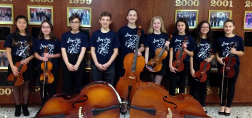Abington Junior High School Students Perform at String Festival
