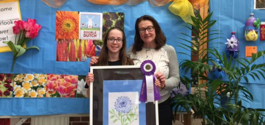Overlook Students Create Entries for Junior Flower Show