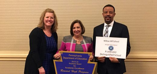 Willow Hill Elementary School Selected as 2017 Distinguished Title I School