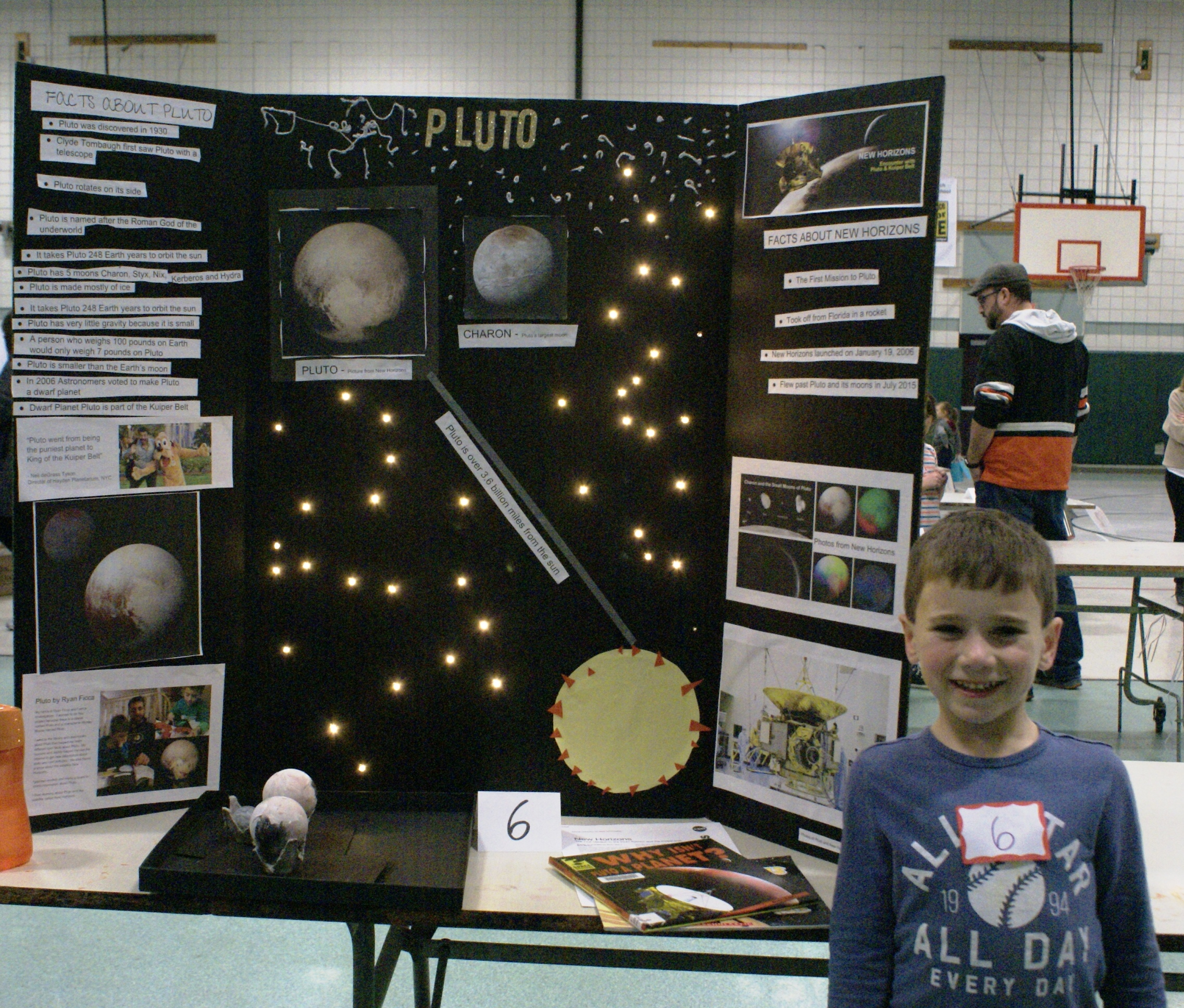 copper beech elementary school presents its first science fair a selection of the projects is shown here