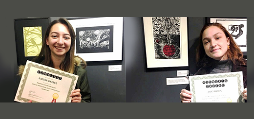 Abington Students' Artwork Accepted into Wharton Esherick Museum's IMPRINT Competition