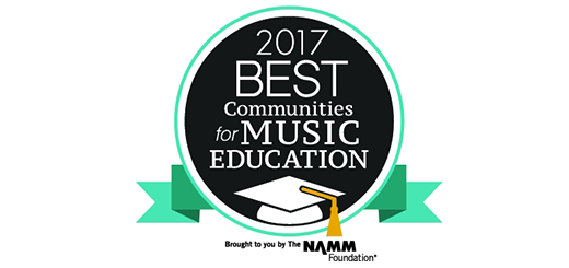 "Abington Music Program Wins NAMM Award for ""Best Communities for Music Education"" 10th Year in a Row"