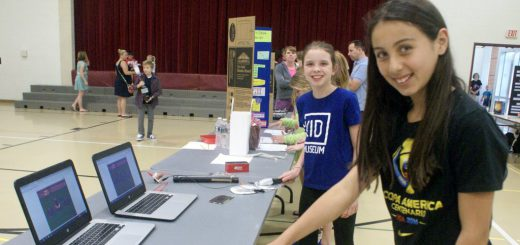 Overlook Elementary School Science Fair Features Junior Scientists and Fascinating Experiments and Displays!