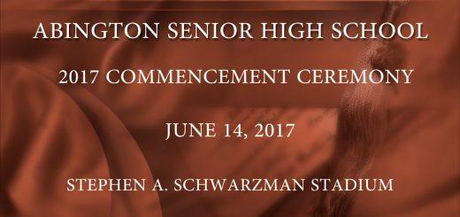 2017 Abington Senior High School Commencement