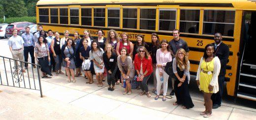 New Abington Teachers Take Bus Tour of Abington and Rockledge