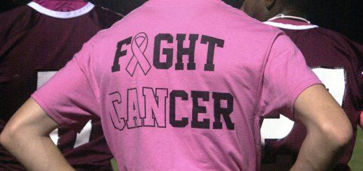 Football Players Tackled Breast Cancer at Abington vs. Council Rock North Game October 6th