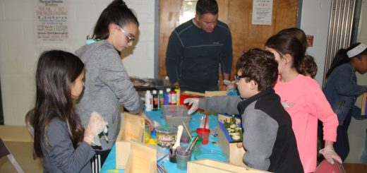 McKinley Elementary School's Environmental Night Featured Environmental Science Topics for Students and Families