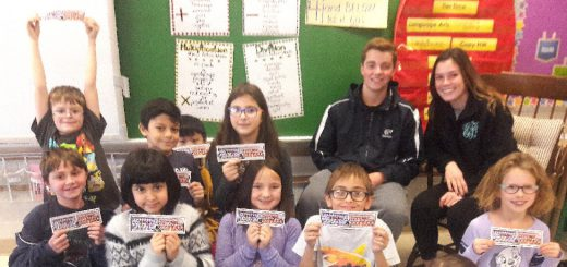 Abington Varsity Soccer Teams Work with Rydal Elementary Students on Reading Goals, Fun, and Soccer Skills