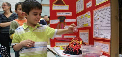 Copper Beech Elementary School Hosts Second Annual Science Fair