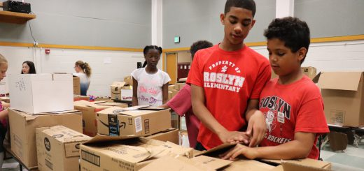 ACT Teen Forum Yields Donations of More than 4,300 Food Items