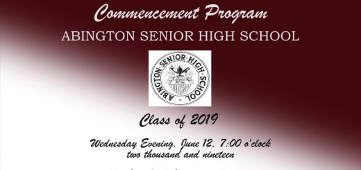 2019 Abington Senior High School Commencement