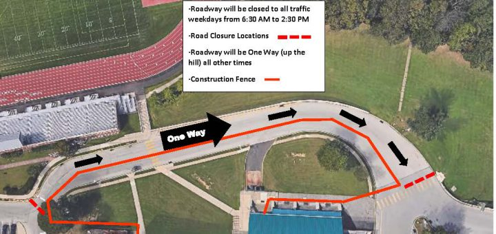 Road Closure at Abington Senior High School