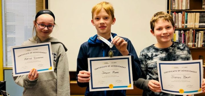 Seventh Grader Named National Geographic GeoBee Pennsylvania State Competition Semifinalist