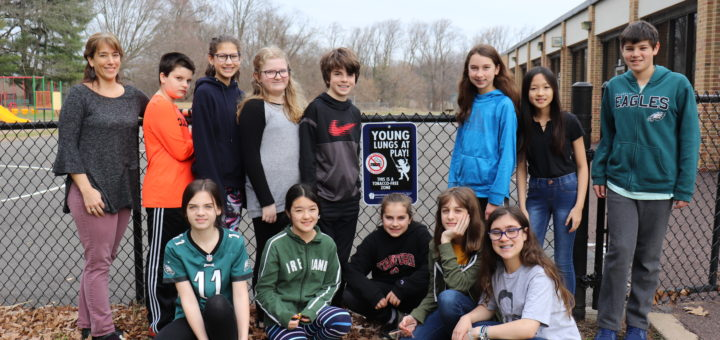 McKinley Elementary Students Advocate for Young Lungs at Play