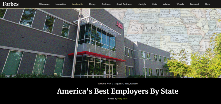"Abington School District Named to Forbes' List of ""America's Best Employers by State"""