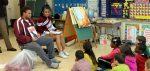 Reading Super Bowl Celebration at Overlook Elementary School
