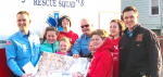 Overlook Students and Parents Make 250 Hoagies for Sixth-Grade Fundraiser and Donate Several Dozen to Three Abington First Responder Groups