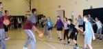"Abington Senior High School Boys' & Girls' Varsity  Basketball Teams Visit Roslyn Elementary School to Support its ""March Reading Madness"" Program"