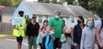 Students at Roslyn Elementary Participate in Walk to School Day