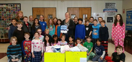Gifted Classes from Rydal and Highland Elementary Schools Donate Over 70 Infant Blankets to Temple University Hospital's Neonatal Care Unit
