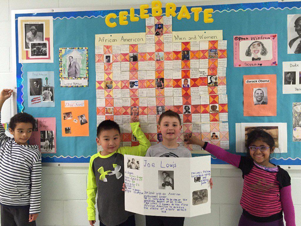 Rydal Elementary School Celebrates Black History Month
