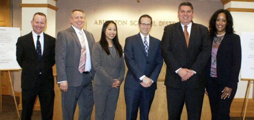 Six New Abington School District Administrative Appointments Greeted with High Praise!